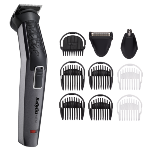 Aparat de tuns si ras MT727E Carbon Titanium 10in1 Multi Trimmer, Black BaByliss