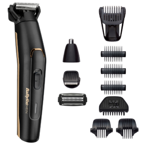 Aparat de tuns și ras MT860E Carbon Titanium 11in1 Multi Trimmer, Black BaByliss