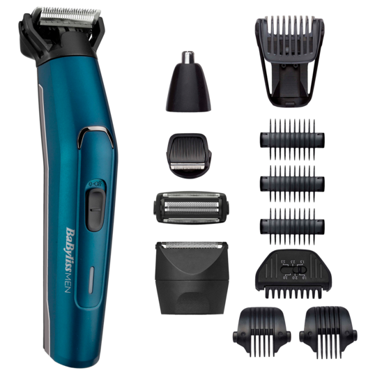 Aparat de tuns si ras Japanese Steel 12in1 Multi Trimmer,  MT890E BaByliss